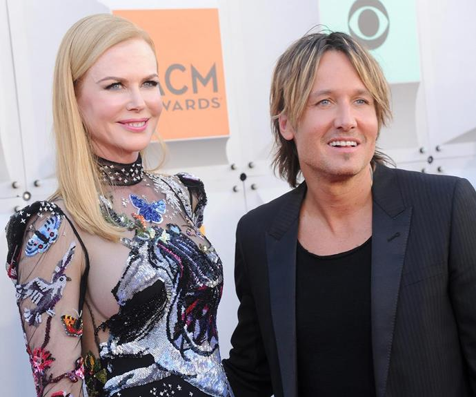There's just no stopping this loved-up power couple, pictured at the ACM awards in 2016.