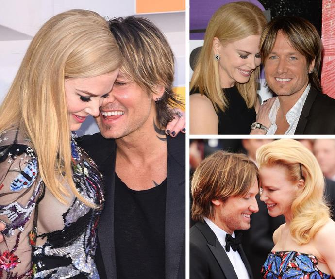 The couple have perfected their red-carpet nuzzle throughout the years.