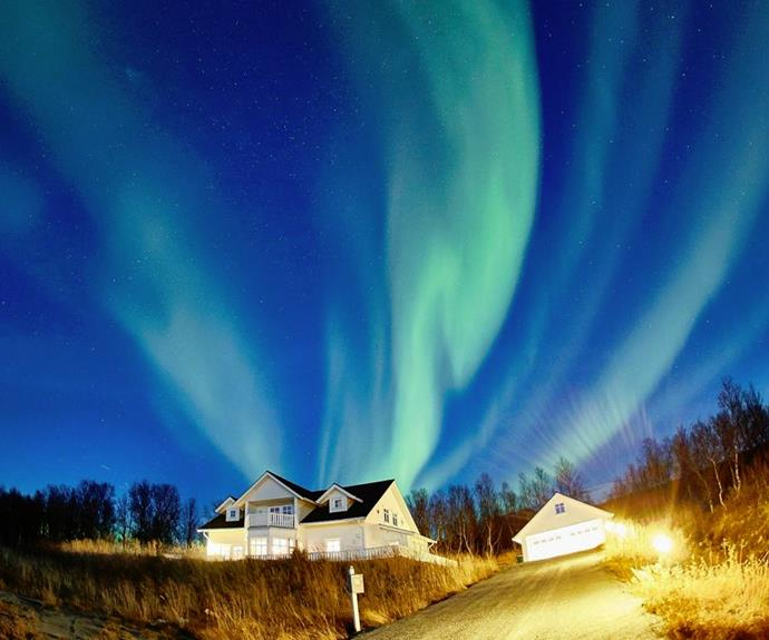 The stunning Tromvik Lodge
