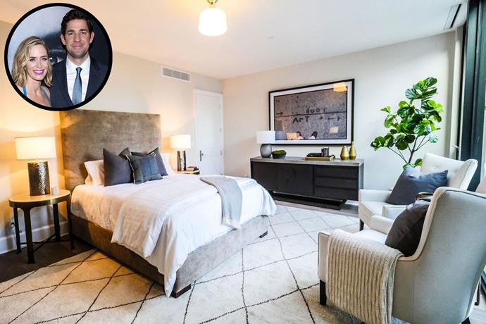 **John Krasinski and Emily Blunt** Krasinki and Blunt recently sold this Los Angeles property to make the move to Brooklyn, New York. *Image via [Realtor.com](http://www.realtor.com/)*