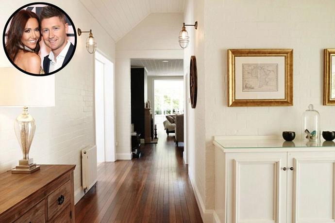 **Michael and Kyly Clarke** The couple began renting out their Berrima home, in the NSW Southern Highlands, last year. *Image via [Domain](https://www.domain.com.au/)*