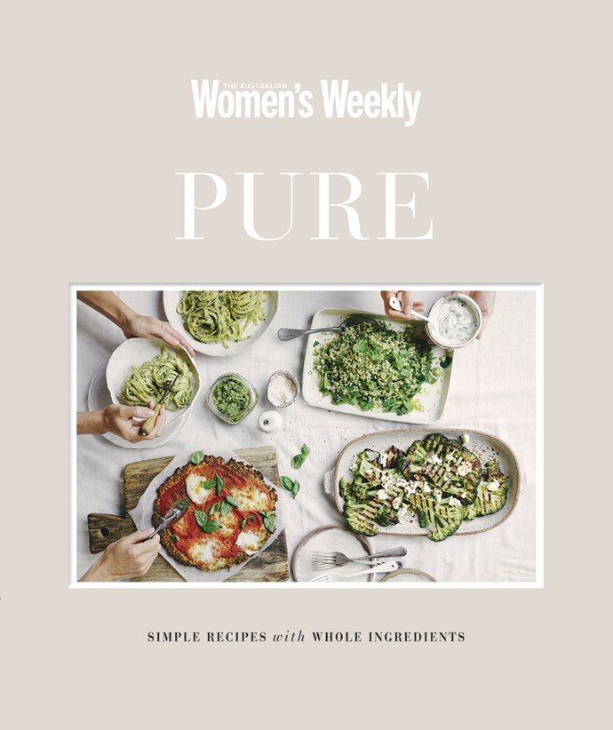 "This recipe is from [The Australian Women's Weekly PURE cookbook](https://www.magshop.com.au/the-australian-womens-weekly-pure|target=""_blank"")."