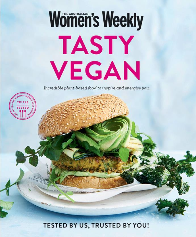 """This recipe is from our book, [Tasty Vegan](https://www.magshop.com.au/tasty-vegan