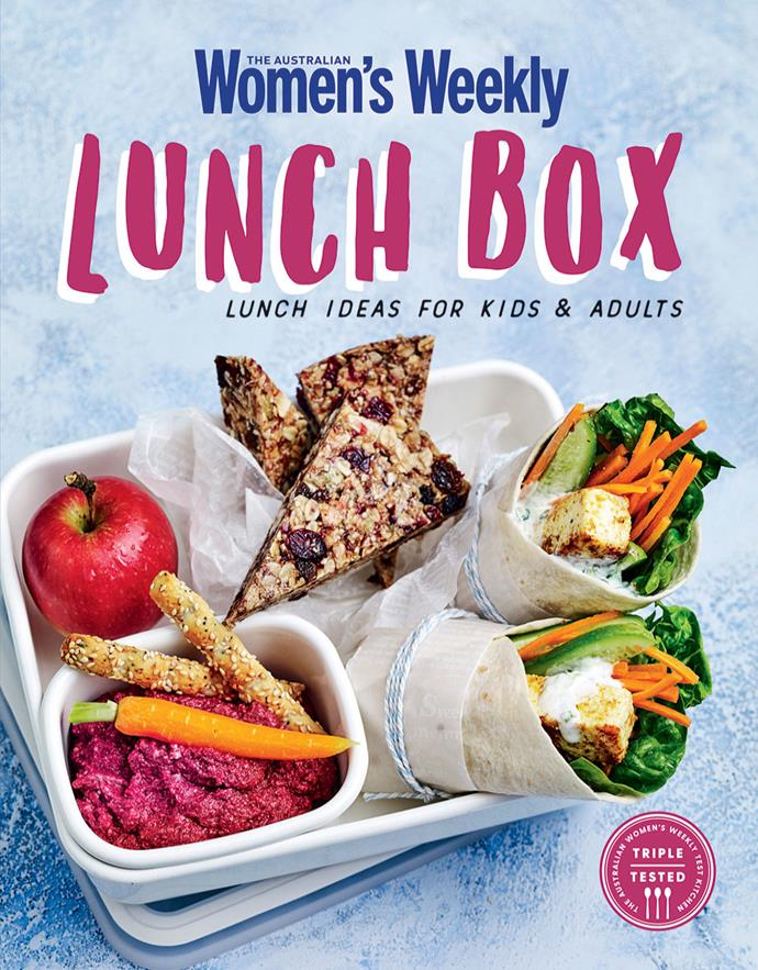 """This recipe is from our cookbook, [Lunch Box.](https://www.magshop.com.au/the-australian-womens-weekly-lunch-box
