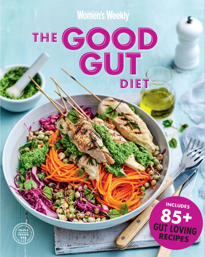 """This recipe and more delicious and gut-friendly recipes can be found in our book, [The Good Gut Diet.](https://www.magshop.com.au/australian-womens-weekly-the-good-gut-diet