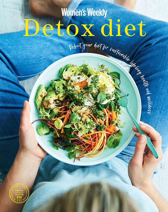 """This recipe and more delicious healthy recipes can be found in our book, [Detox Diet](https://www.magshop.com.au/the-australian-womens-weekly-detox-diet