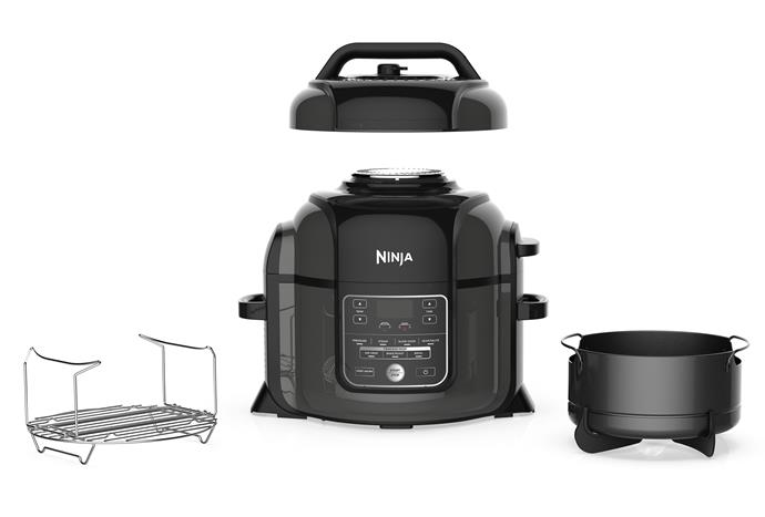 "Navigating the influx of new multi-cookers can be a bit overwhelming but there is a way to have it all. The Ninja Foodi is a multi-cooker that is a [pressure cooker](https://www.womensweeklyfood.com.au/warming-sweet-and-savoury-recipes-for-your-pressure-cooker-30047|target=""_blank""), [slow cooker](https://www.womensweeklyfood.com.au/comforting-slow-cooker-recipes-29963