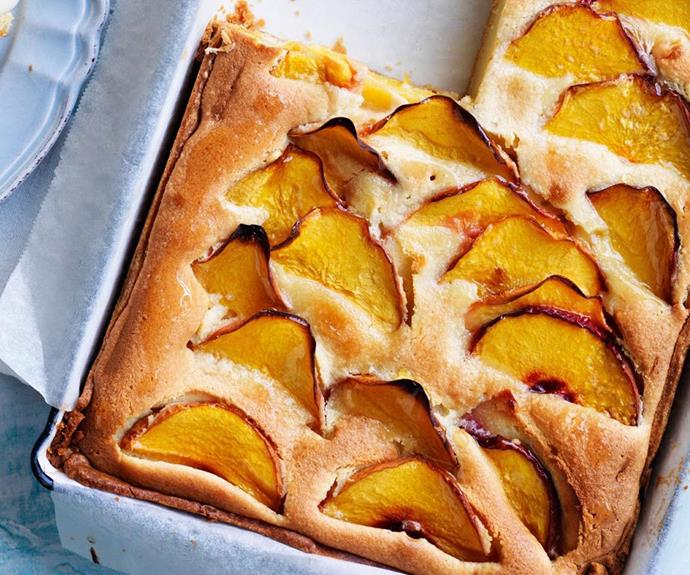 "[Peach frangipane tart](https://www.womensweeklyfood.com.au/recipes/peach-frangipane-tart-4837|target=""_blank"")"