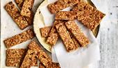19 homemade muesli bars and snack bars