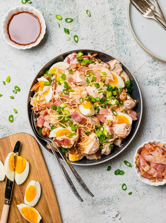 "[Potato salad with chilli salad dressing](https://www.changs.com/recipes/Potato-Salad-with-Chilli-Salad-Dressing/|target=""_blank""