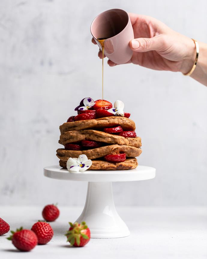 """[Wholemeal pancakes](http://azaleaoils.com/recipe/wholemeal-pancakes/