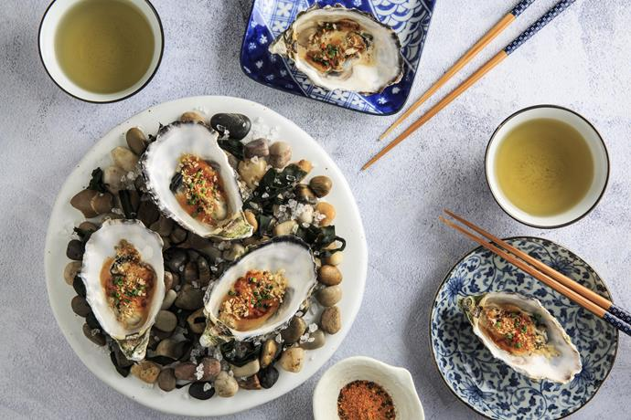 "[Grilled Mayonnaise Oysters](https://kewpiemayomadebetter.com.au/recipes/grilled-mayonnaise-oysters|target=""_blank""