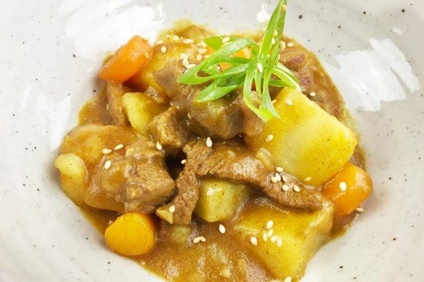 """**[Japanese beef curry](https://asianinspirations.com.au/recipes/japanese-beef-curry/