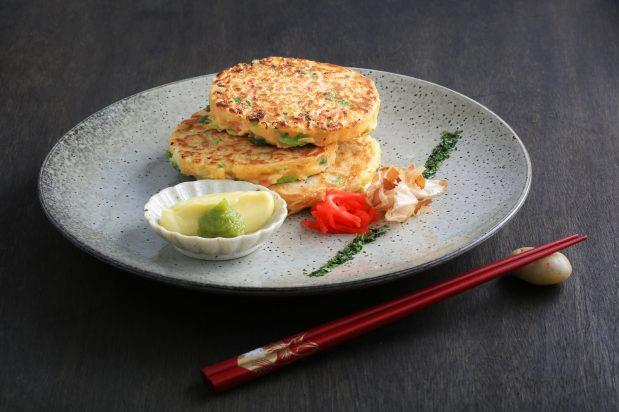 """**[Japanese pancakes (okonomiyaki)](https://asianinspirations.com.au/recipes/japanese-pancakes-okonomiyaki/