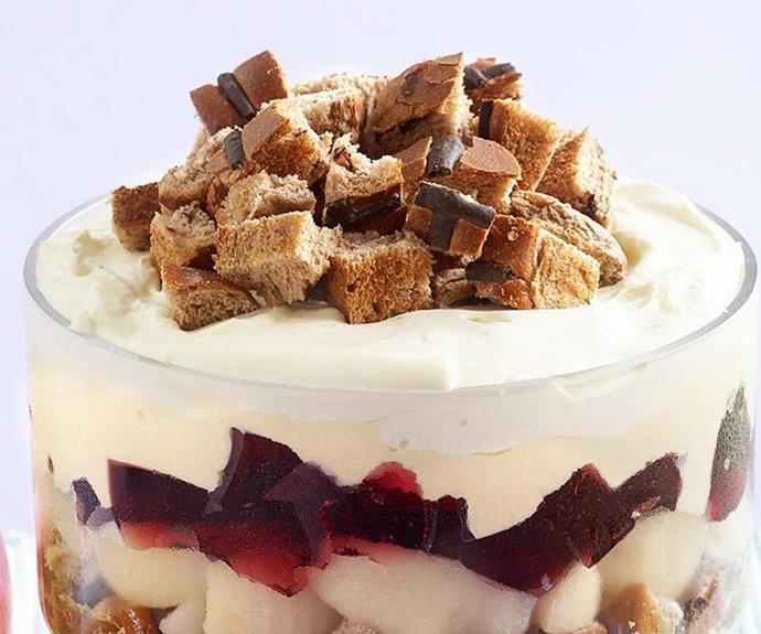"""**[Easter trifle](https://www.womensweeklyfood.com.au/recipes/easter-trifle-14262