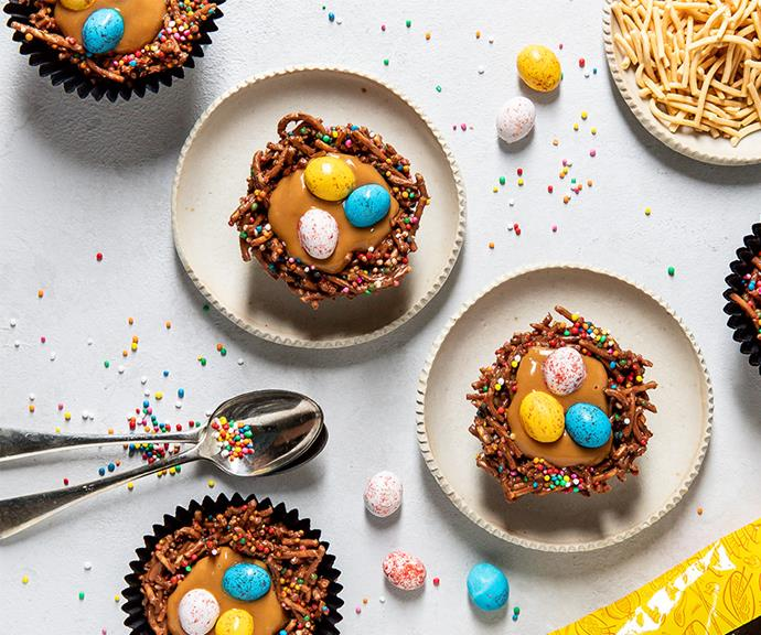 """**[Easter nest surprise](https://www.changs.com/recipes/Easter-Nest-Surprise/