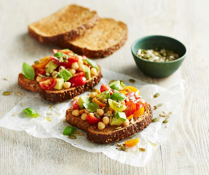 """**[Breakfast bruschetta](https://www.helgas.com.au/recipes/breakfast-bruschetta