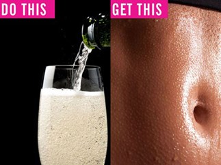 5 ways to tone your entire body using nothing but a glass of champagne