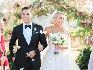 You need to see Anna Camp's wedding dress from her Pitch Perfect wedding