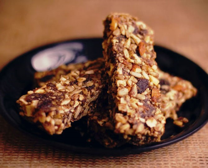 "**3. Energy/ protein bars.**   These make a convenient on-the-go snack, but some brands actually contain as much sugar (if not more) than a Mars bar. Don't assume that labels such as ""natural"" or ""raw"" automatically equate to ""good for you"". These bars are often packed with dried fruit, honey and other syrups, which are all forms of sugar, thus high in calories and will drive your desire for more sweetness."