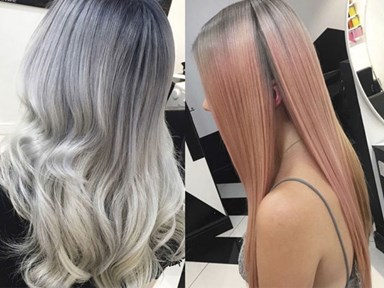Smoky pastel hair: 7 cool AF ways to wear grey this spring