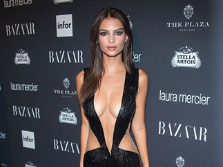 Emily Ratajkowski naked dress