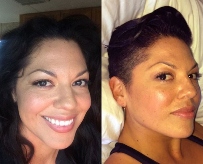 Sara Ramirez (AKA Callie Torres from *Grey's Anatomy*) just channelled the DGAF orthopaedic surgeon IRL by ditching her curly black hair for an epic buzz cut. Yasss girl!