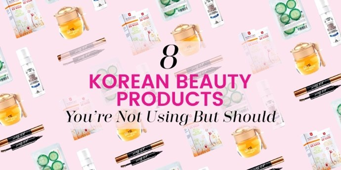 It's well-known that Korea is ahead of the game when it comes to beauty. And since these products are a hot commodity in Korea right now, it's only a matter of time before these eight products become sell-outs. Take notes, girls, and scoop these pretty finds up while you still can.