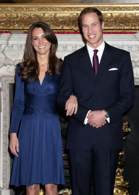 **Duchess of Cambridge, 2010** Kate Middleton's Issa dress sold out within mere seconds of this photo being published - a trend that still happens with whatever Kate wears to this day.