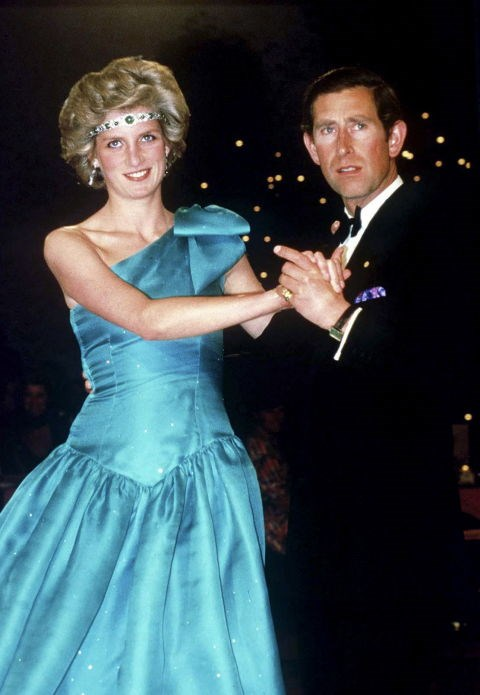 **Princess Diana, 1985** When the Queen loaned Princess Diana a tiara to wear to a ball in Melbourne, she probably didn't expect her to wear it as a headband.