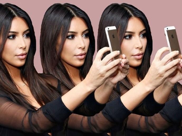 Kim Kardashian perfect selfie guide photo insta advice
