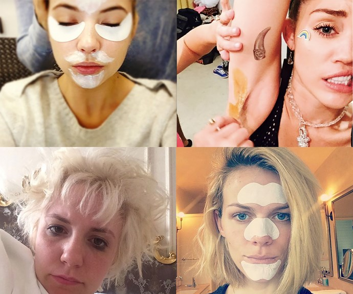 Awkward celebrity beauty problems