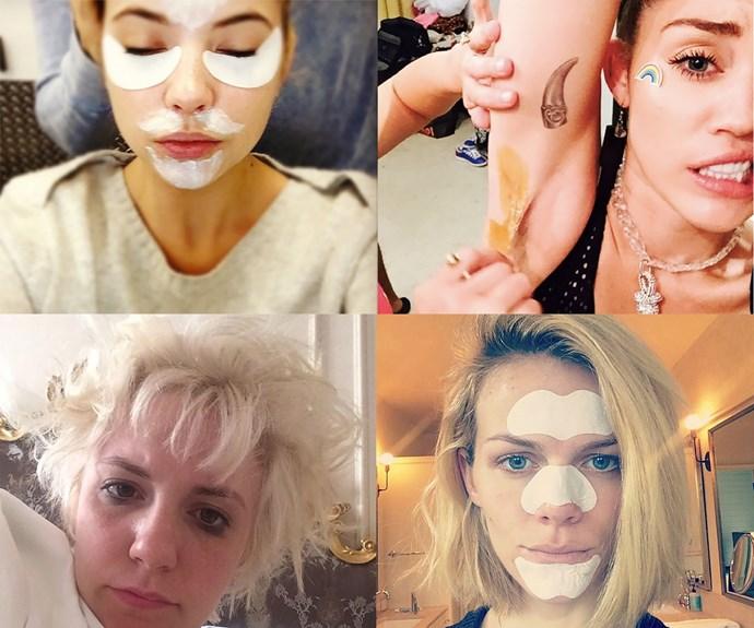 Awkward celebrity beauty problems