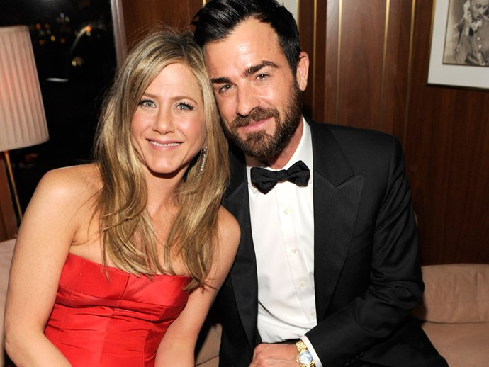 Justin Theroux praises wife Jennifer Aniston in new interview.