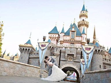The new Disney wedding dress collection just dropped and we're already OBSESSED