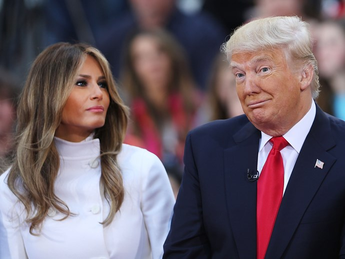 Melania Trump breaks silence after Donald Trump's disgusting comments about grabbing women on the genitals.