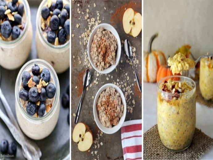 overnight oats oatmeal breakfast