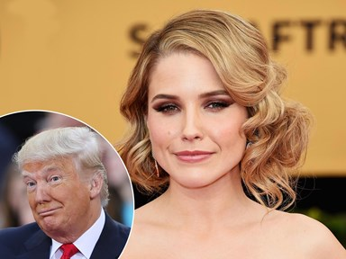 Sophia Bush points out the most alarming word in Donald Trump's leaked audio