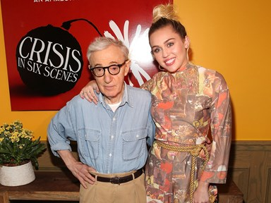 Miley Cyrus defends working with Woody Allen in new interview