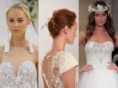 15 hairstyles from bridal fashion week that are SURE to give you ~inspiration~