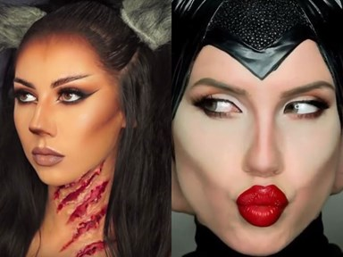 These Halloween beauty tutorials are equal parts scary and sexy