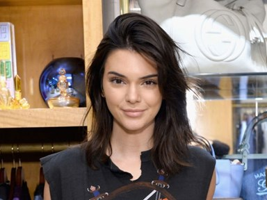 Kendall Jenner throws low-key shade at the guitarist who wore a 'Kill the Kardashians' tee
