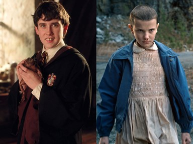 Neville Longbottom and Eleven from 'Stranger Things' just met and ZOMG