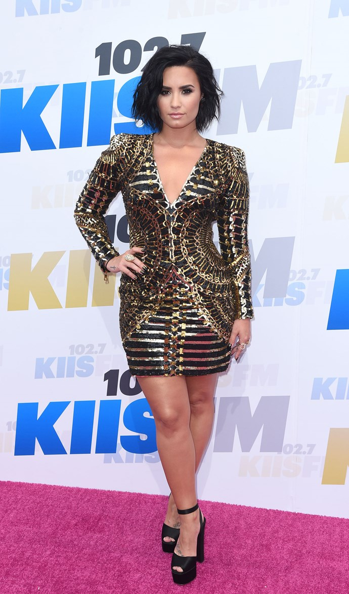 """**Demi Lovato on her eating disorder and self-harm:**  """"It was a way of expressing my own shame, of myself, on my own body. I was matching the inside to the outside. There were some times where my emotions were just so built up, I didn't know what to do. The only way that I could get instant gratification was through an immediate release on myself."""""""
