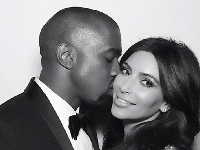 Kanye West's Christmas gift to Kim Kardashian was as extra as you'd expect