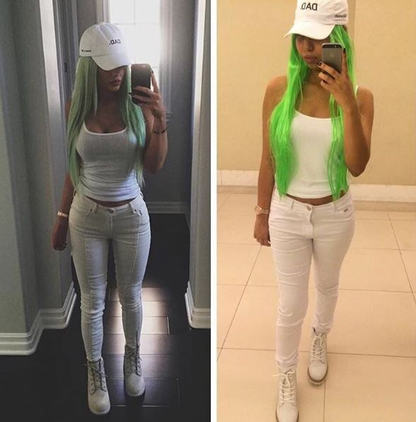 "**4. Dad vibes** Embrace your inner Backstreet Boy with this all-white Kylie look, featuring her iconic ""DAD"" hat. Via [ohnobitch11.20]( https://www.instagram.com/p/9iD6L7yhog/