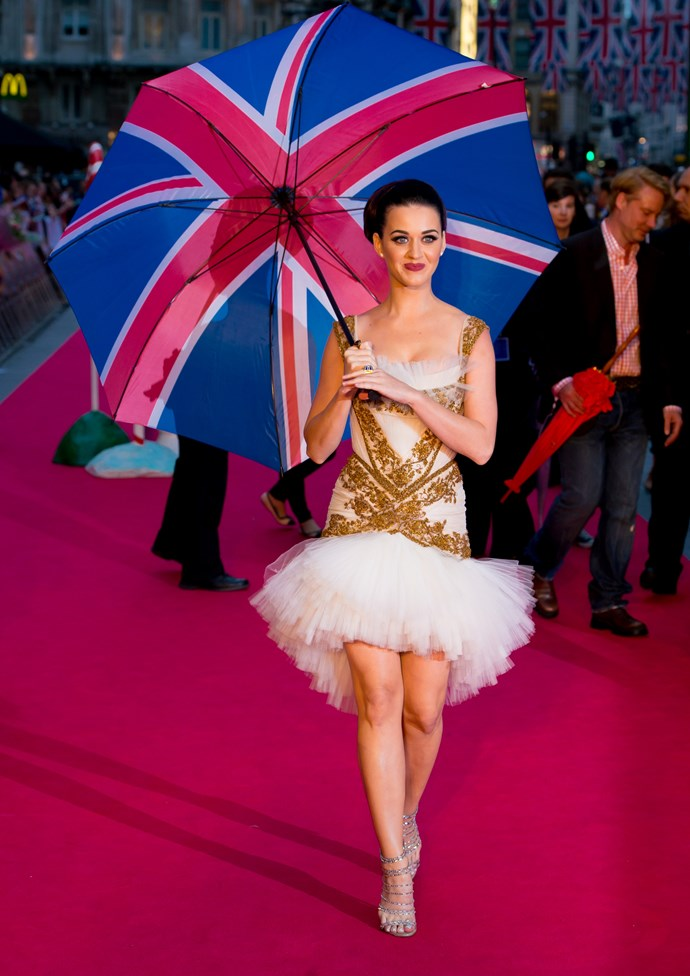 Representing the United Kingdom in the international ballet is.... Katy Perry.