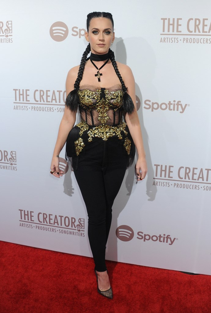 Katy, the goths called and they want their necklace back.