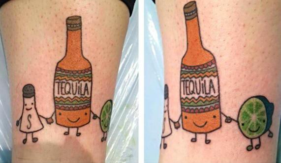**Tequila-squad tattoo**
