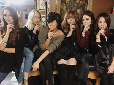 The Pretty Little Liars cast just got the most perfect matching tattoos